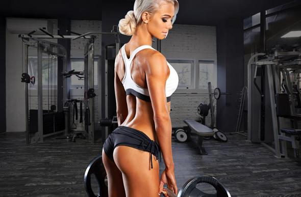 Avoir une belle silhouette avec un thigh gap passe par l'entrainement