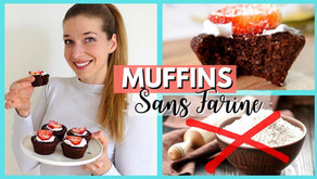 Muffins sans farine à la poudre d'amande (sans gluten)