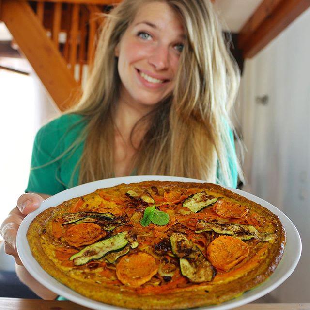 pizza coupe-faim au psyllium