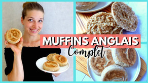 Recette muffins anglais healthy (et complet)