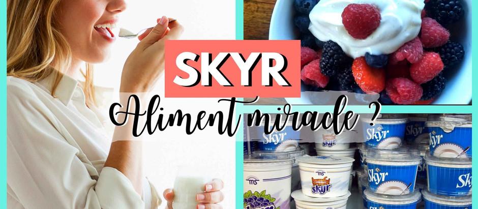 SKYR ET MUSCULATION : Nouvel aliment indispensable ?