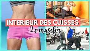 Comment muscler l'intérieur des cuisses avec la musculation ?