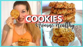 Recette cookies aux flocons d'avoine (Healthy)