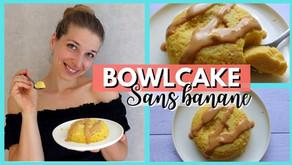 Recette bowlcake sans banane moelleux