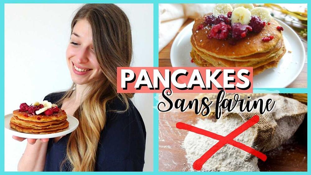 pancakes sans farine à la banane