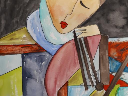 Pintura y poesia... un tandem perfecto
