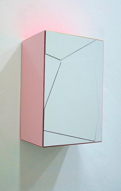 """Isabelle Borges, """"Fragments of Time Box 1.19.20"""", 2020"""