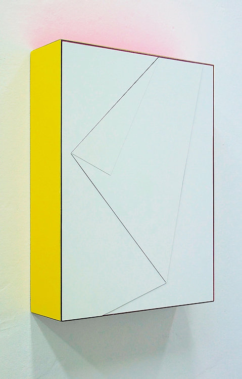 """Isabelle Borges, """"Fragments of Time Box 1.30.20"""", 2020"""