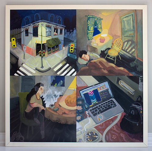 "Sam Ticknor, ""Soul House (Pittsburgh)"", 2019-2020"