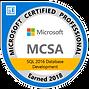 MCSA-SQL-2016-Database-Development-2018.