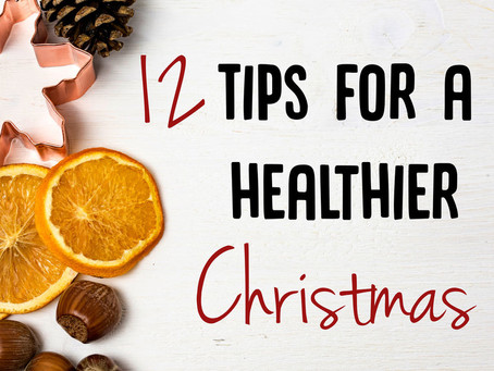 12 tips for a healthy Christmas