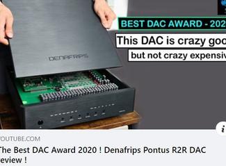 PONTUS DAC - The Best DAC Award 2020!