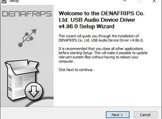 Windows USB Driver v4.86.0