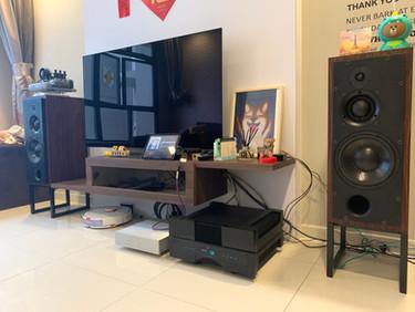 Venus II + Gryphon + ATC SCM50
