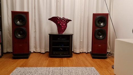 The Ares II gets the best out of my amplifier and speakers.