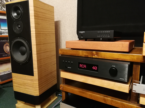 DENAFRIPS Athena - is the best stereo component which I had in my audio life. (point!)