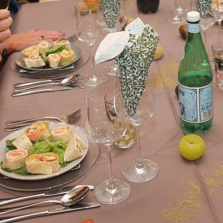 Petit buffet, mini banquet