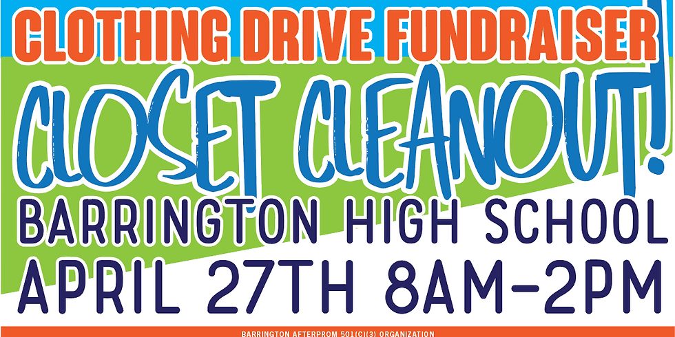 Spring Cleaning Closet Cleanout!!! CLOTHING DRIVE