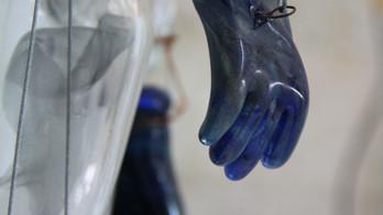 Glass marionette