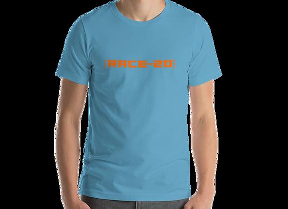 [Race-20] Orange - We Want To Race - T-Shirt