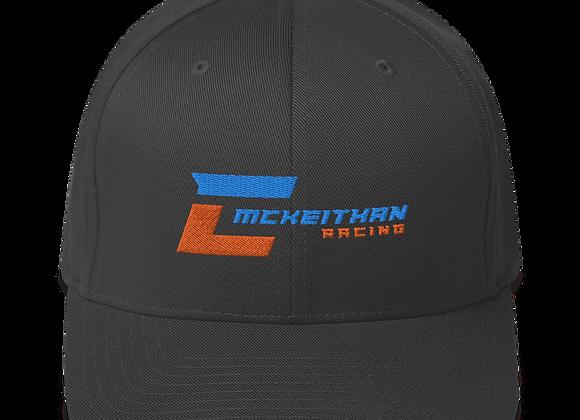 """FlexFit Hat - Logo Front - """"419"""" v2"""