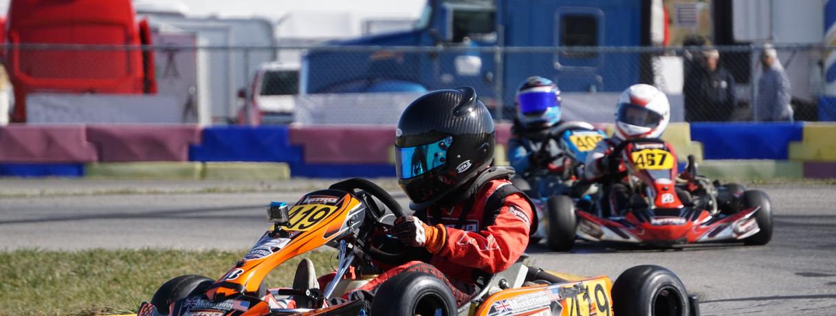 2019 WKA New Castle Motorsports Park, Indiana