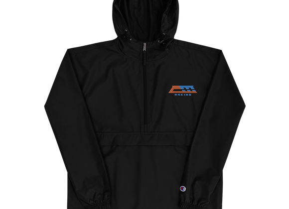 CM Racing Logo - Embroidered Champion Packable Jacket