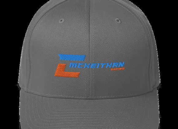 """FlexFit Hat - Logo Front - """"19"""""""