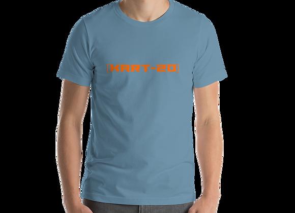 [KART-20] Orange - We Want To Race - T-Shirt