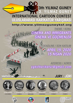 3 INTERNATIONAL CARTOON CONTEST