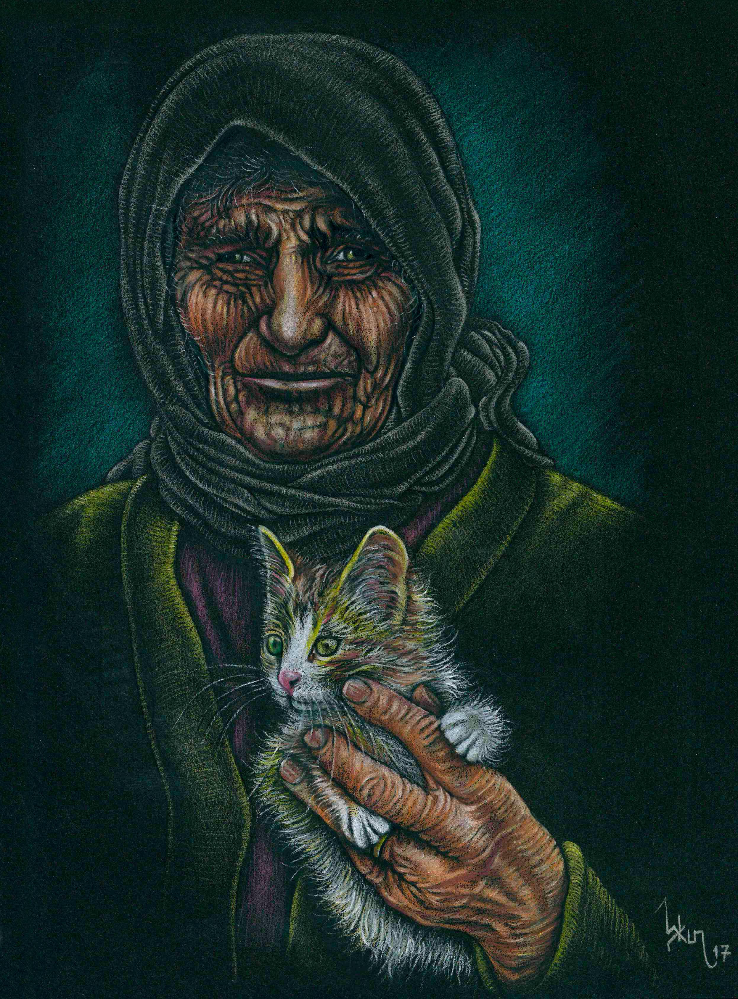 kedili_kadın