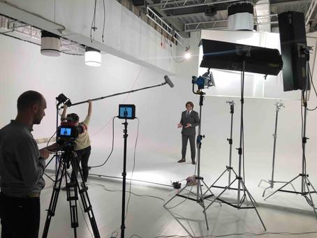 Андрей Малахов у нас на съёмках