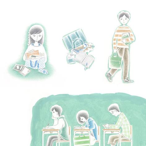 『Dream Navi』特集誌面イラストレーション