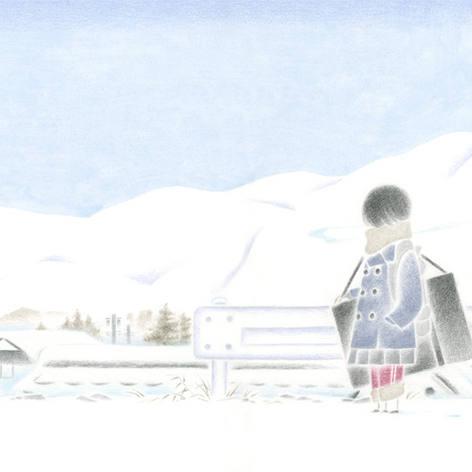冬の山のはなし