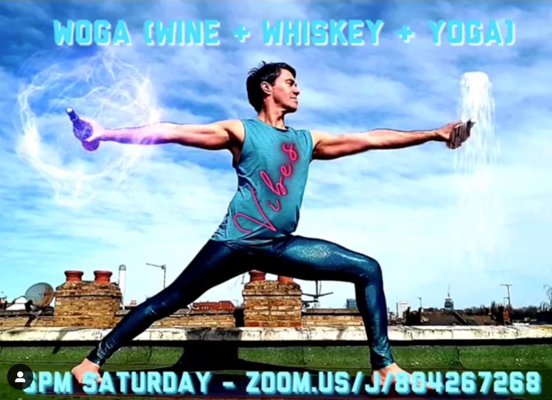 Woga (Wine & Yoga) - Every Sat 6pm