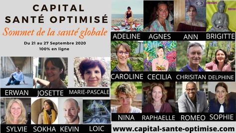 Réserver votre place gratuitement au sommet de la santé global : Capital Santé Optimisé