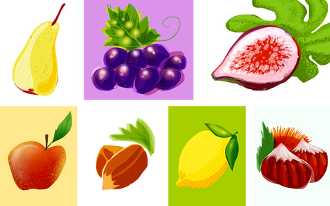 Les fruits et légumes de l'automne