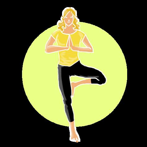Mon premier cours de yoga
