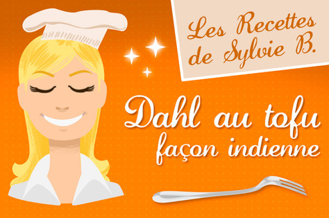 Dahl au tofu façon indienne