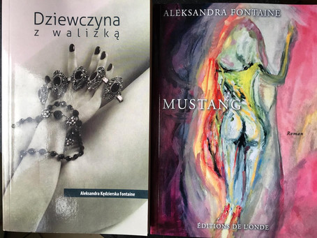 "Le prochain roman d'Aleksandra Fontaine    ""Mustang"""