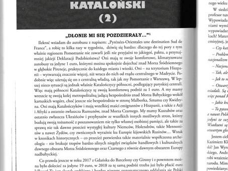 "Un trimestriel socio-culturel ""Prowincja"" - Le journal catalan de Paweł Zbierski Poray"