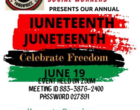 NABSW  Juneteenth Event