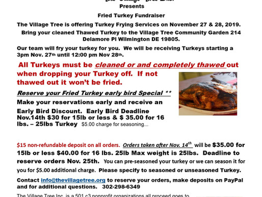 We're Frying Turkey's for you