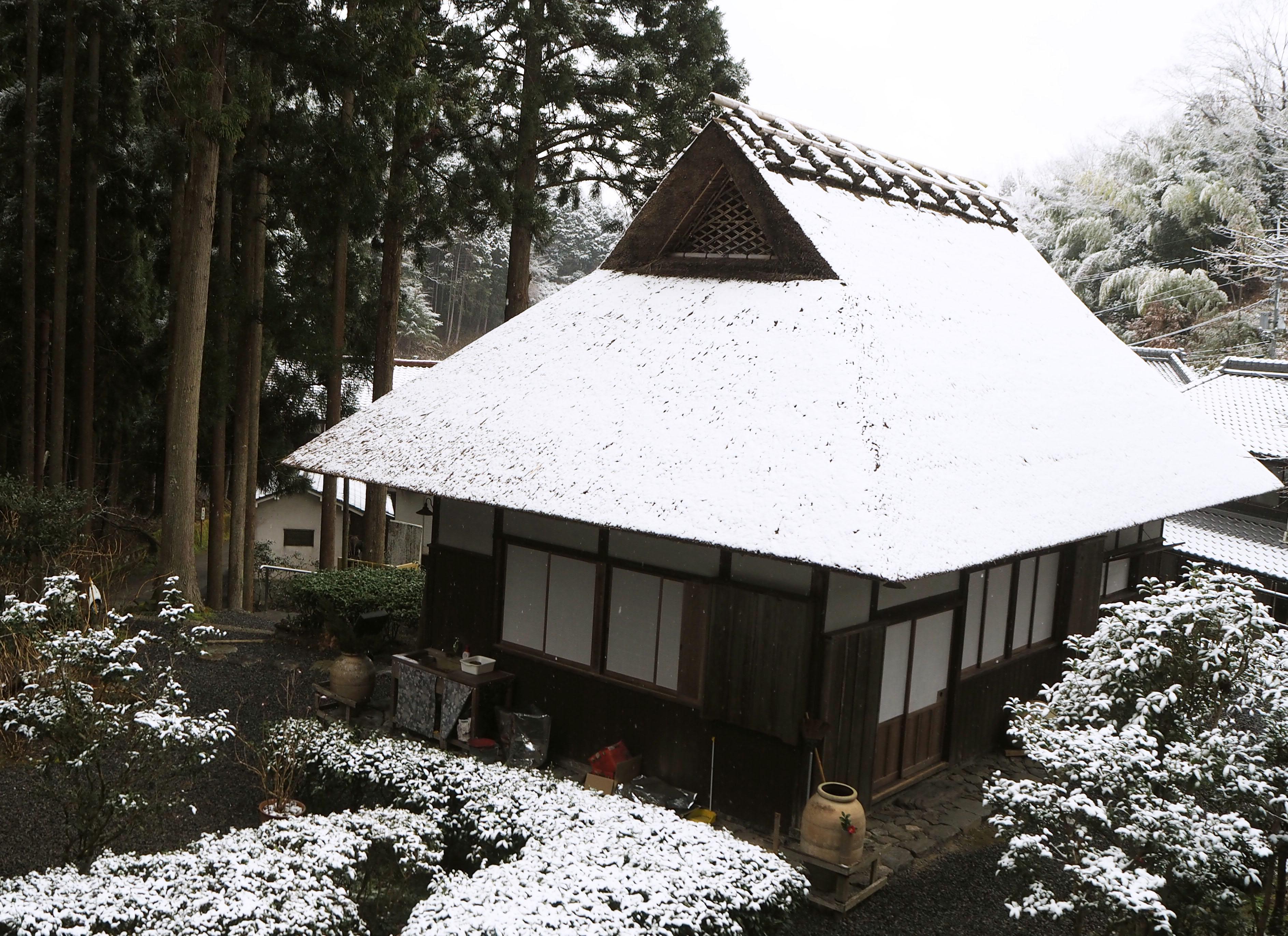 生家雪景色