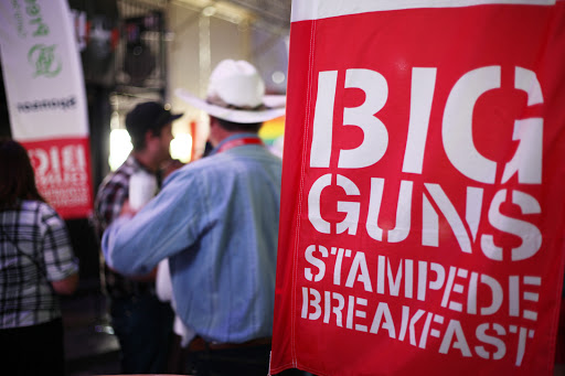 Big Guns Breakfast 2