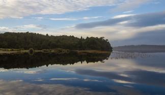 Lake Mahinapuha - Neuseeland