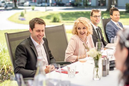 Mittagessen am Hochzeitstag in Vorarlberg