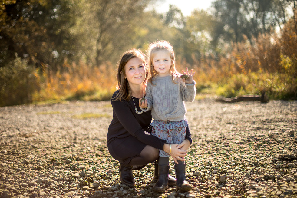 Mutter Kind Fotoshooting