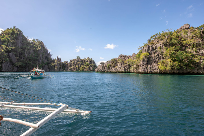 Island Hopping on Coron in the Philippines