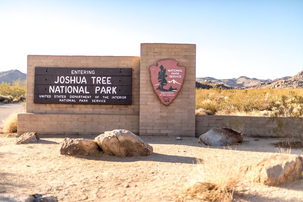 Joshua Tree Nationalpark Sign